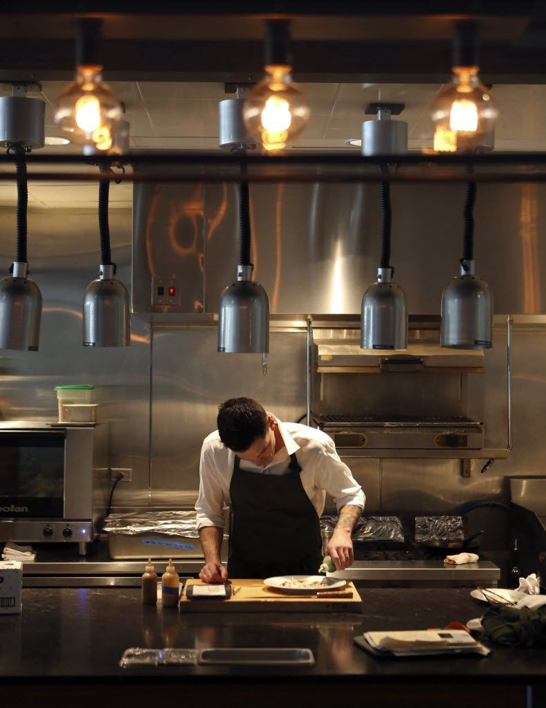 Going back in time: Here's chef Matt McCallister at FT33 in 2013.