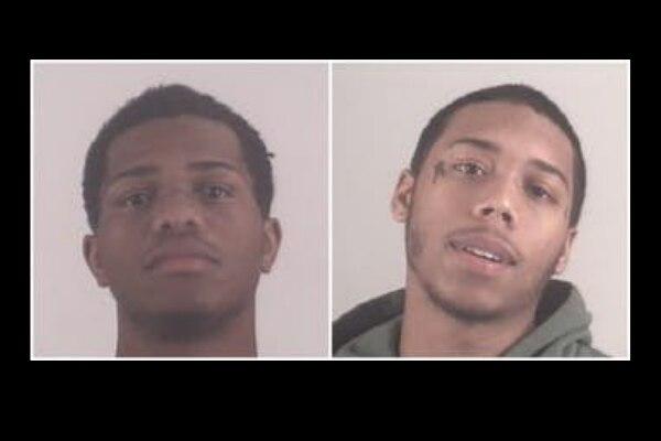 Jylilla Redwine y Daevon Roberts, acusados de homicidio. CÁRCEL DEL CONDADO TARRANT