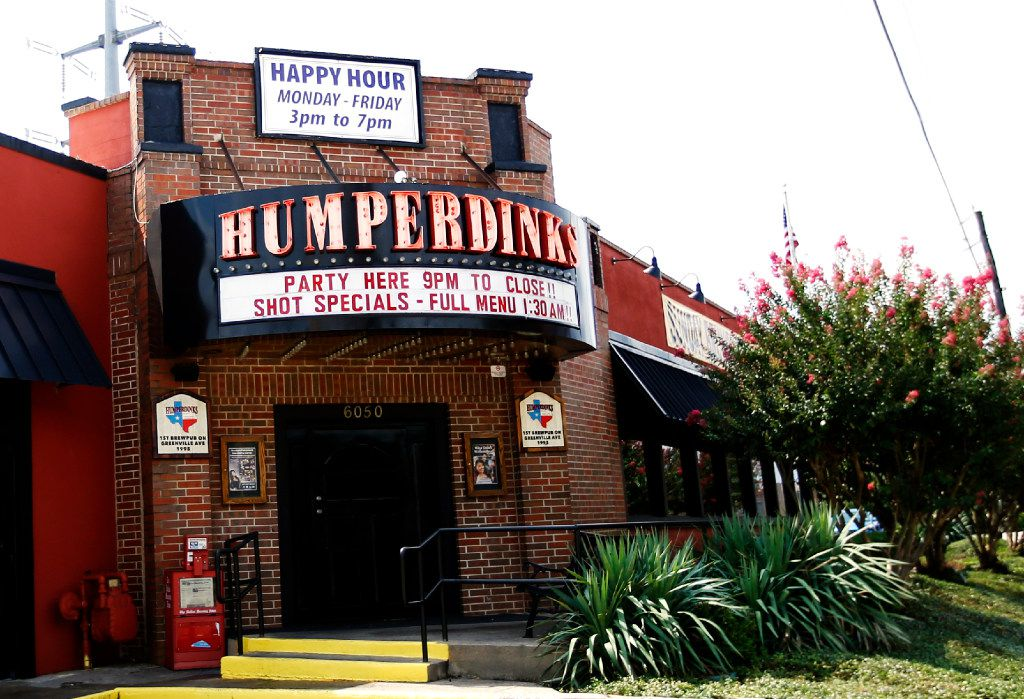 Humperdinks has closed all of its restaurants in North Texas.