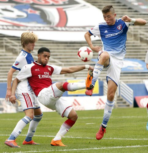 FC Dallas vs. Arsenal el domingo en el Cotton Bowl. Foto DMN