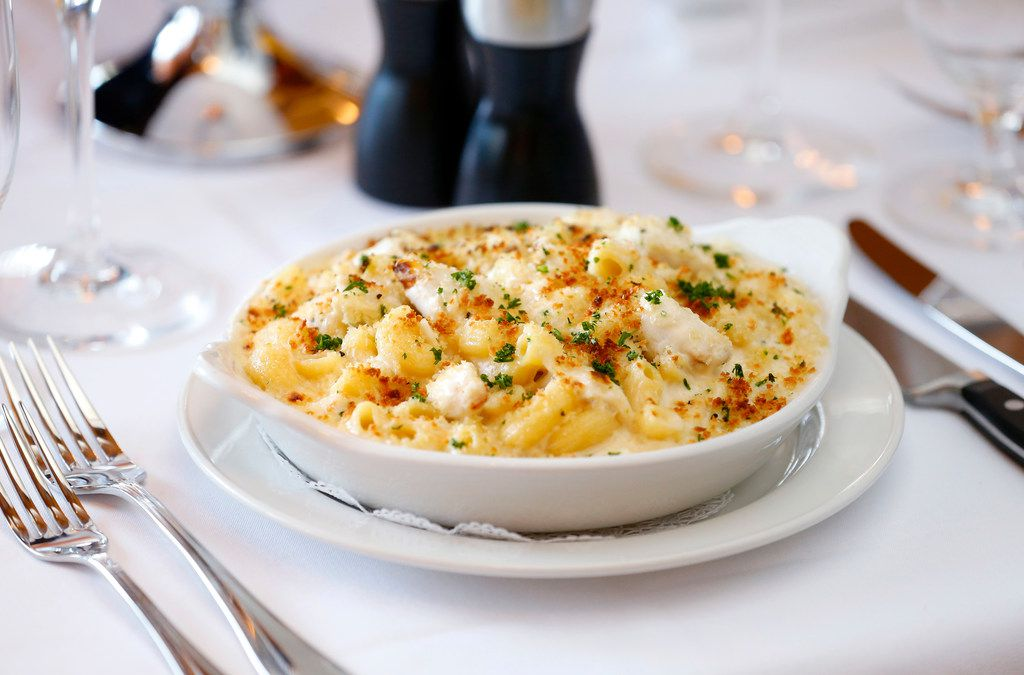 When it's DFW Restaurant Week, you get the mac 'n cheese. You just do. Here's Pappas Bros.' mac.