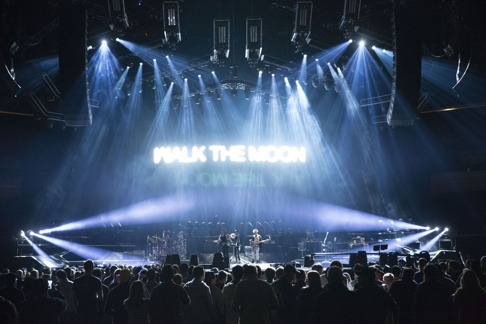 Space Center Houston has a full slate of commemorative activities planned for the 50th anniversary of the moon landing, including a concert headlined by Walk the Moon (shown here at American Airlines Center in Dallas in February 2019) and Phillip Phillips.