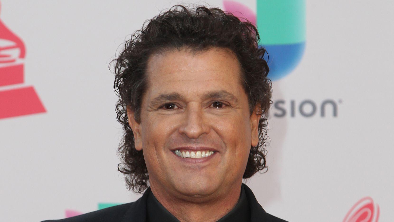 Carlos Vives a su llegada a los premios Latin Grammy./GETTY IMAGES