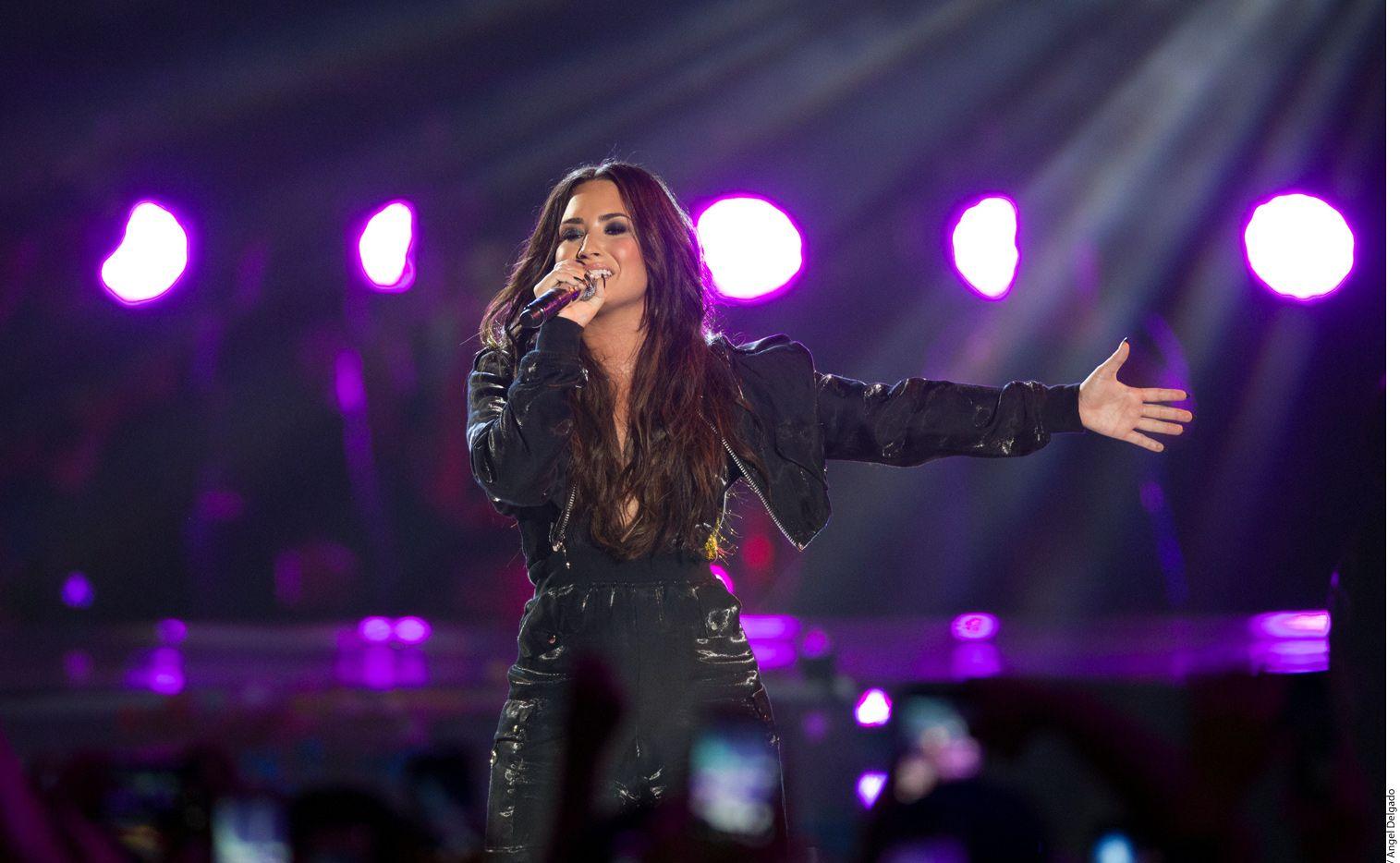 Demi Lovato se presentará el 20 de septiembre en la Arena Ciudad de México. (AGENCIA REFORMA)