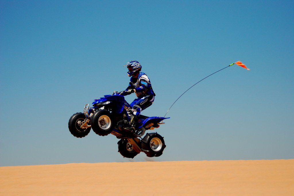 Oklahoma's Little Sahara State Park lures adrenaline junkies from North Texas and elsewhere.