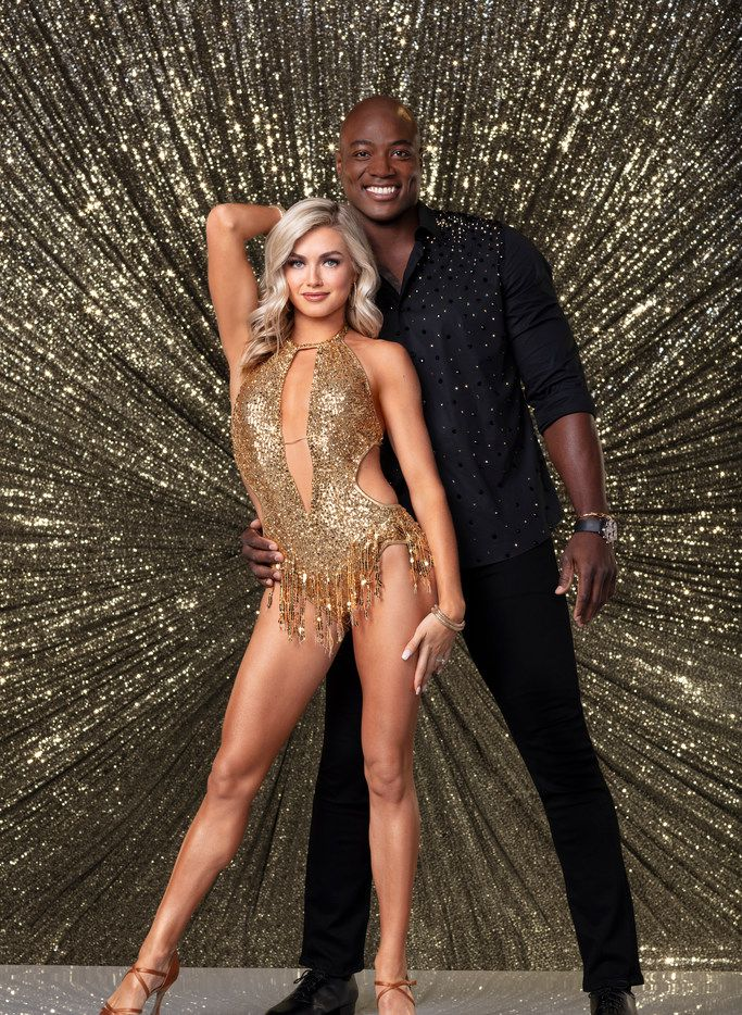 """Dancing with the Stars""  is waltzing its way into its upcoming season, which kicks off Monday, Sept. 24 on ABC. Former Dallas Cowboys player DeMarcus Ware, shown with partner Lindsay Arnold, is in the celebrity cast."