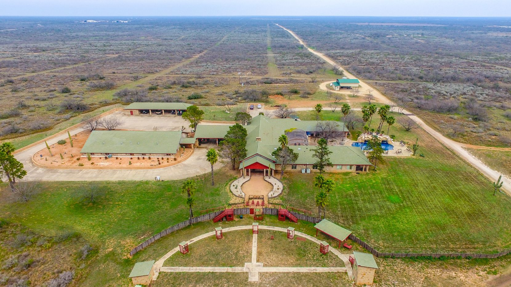The La Bandera Ranch was listed for sale at more than $54 million and is southwest of San Antonio.