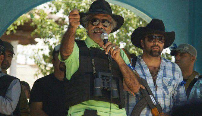 """José Manuel Mireles, líder de las Autodefensas en """"Cartel Land"""". (CORTESÍA/DIFF)"""