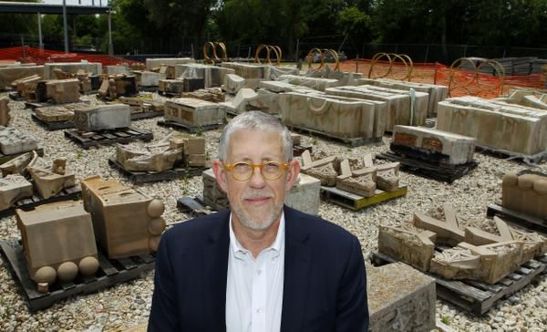 """""""It kills me to know what we've lost. Especially the things where I've approached somebody and said, 'Can I have that?' and they say yes, and then I go back two weeks later and the contractor's hauled it off,"""" said city Parks and Recreation Director Willis Winters, who treasures Boneyard pieces."""