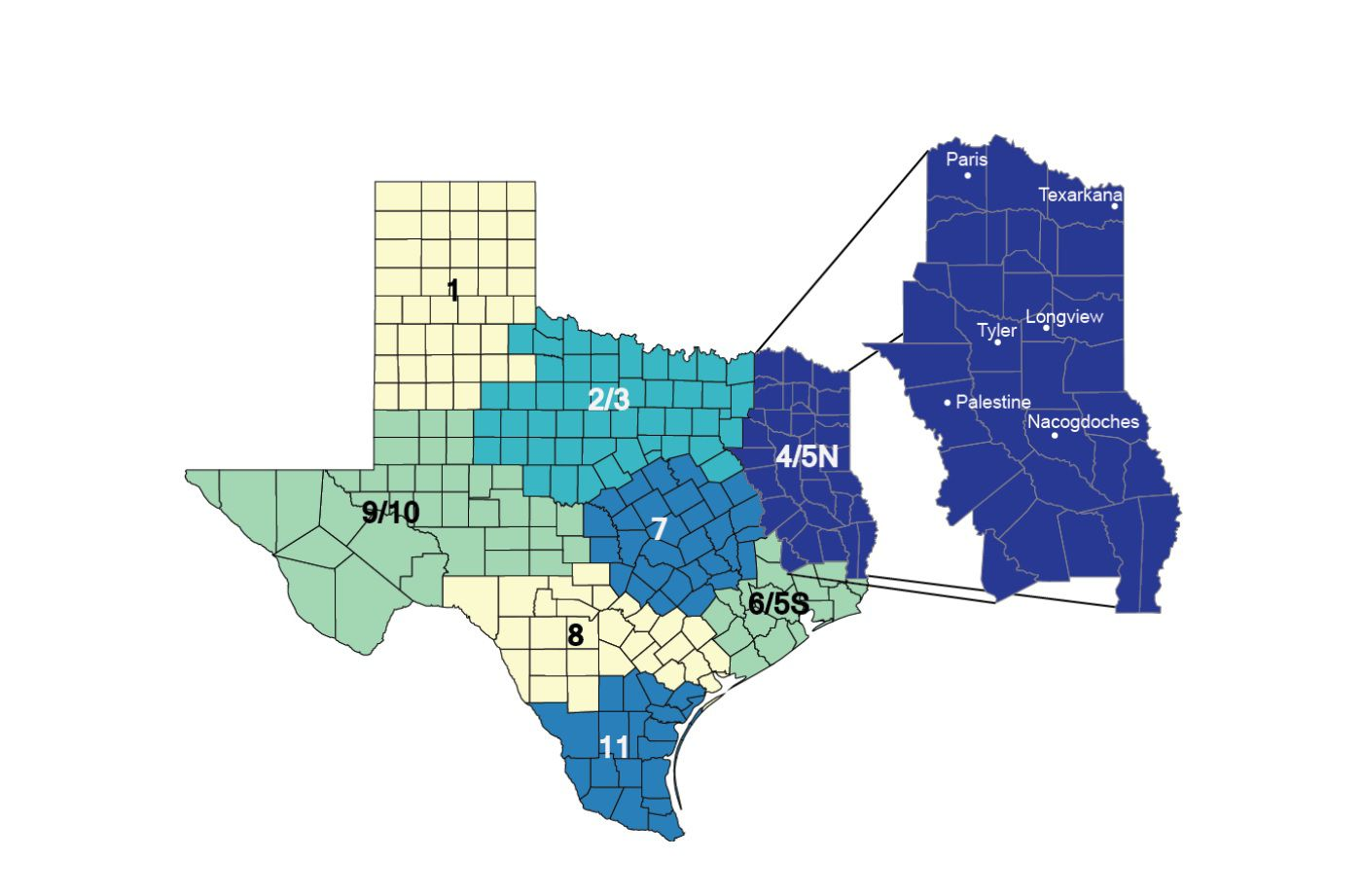 High mortality rates in Northeast Texas not just 'a health