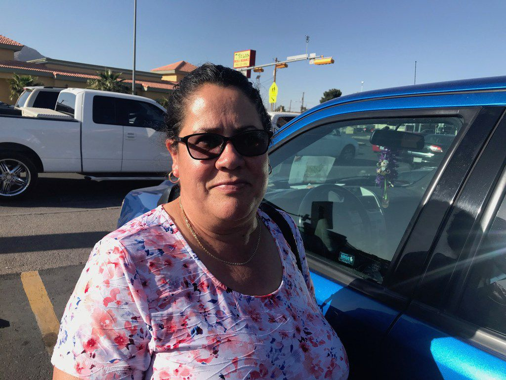 """I want to invite Trump to visit us here, remind him we, too, are Americans,"" says Maria Davila, a domestic worker in El Paso. ""Look around; there's no crisis. We're normal people living in peace, safety. I'd wish he'd put that money to go toward education, and not to generate fear."""