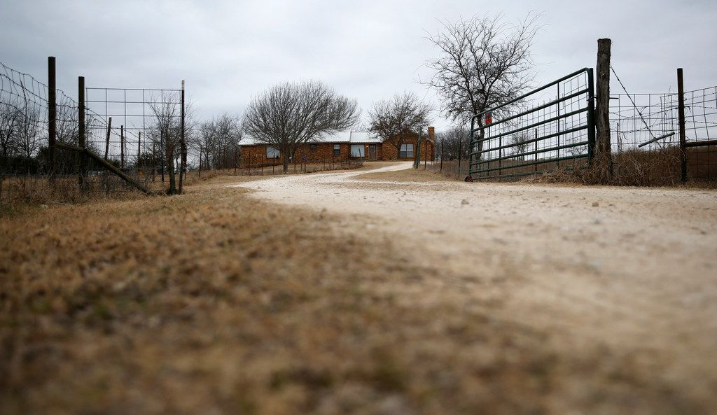 The former home of David and Louise Turpin in Hill County on Jan. 19, 2018.  The Turpins are the parents accused of horrifically abusing their 13 children in California. (Nathan Hunsinger/The Dallas Morning News)