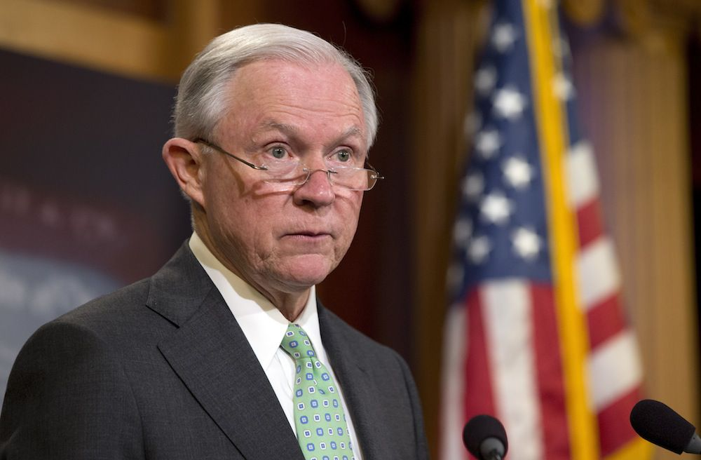 Jeff Sessions, senador por Alabama.