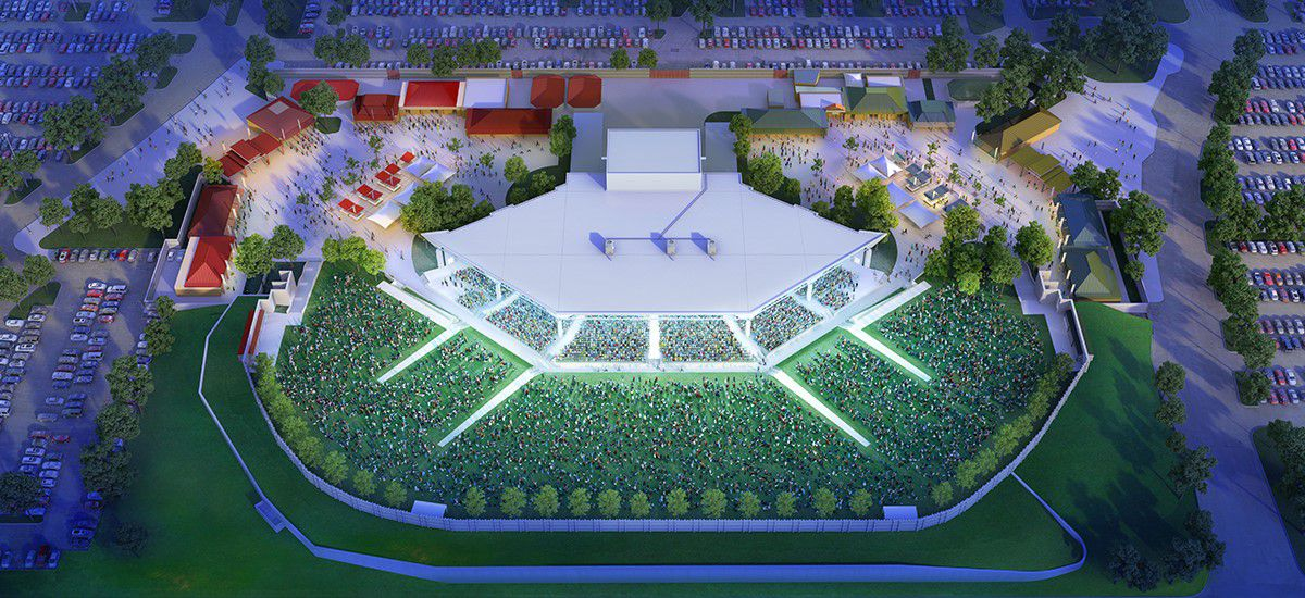 Dos Equis Pavilion en Fair Park, en Dallas. CORTESIA