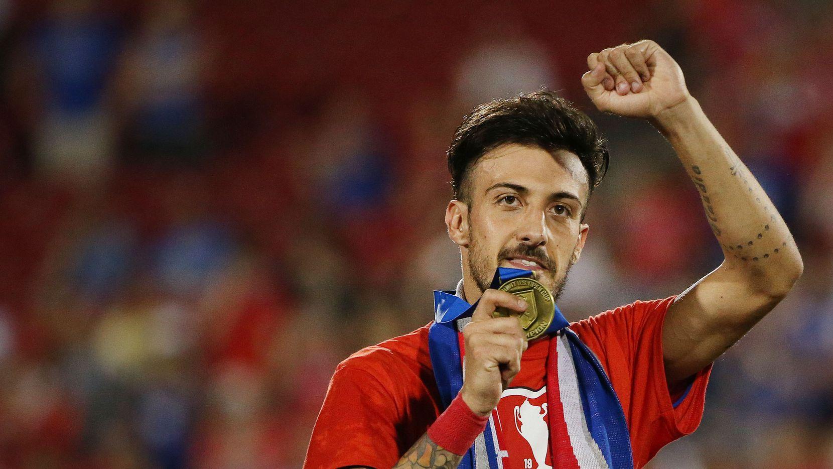 Maximiliano Urruti, delantero del FC Dallas firmó nuevo acuerdo con el equipo por 3 años. Foto DMN