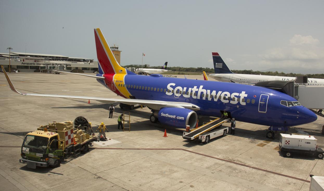 Southwest Airlines inició servcicio de pasajeros al Aeropuerto Internacional de Puerto Vallarta en 2015.(GETTY IMAGES)