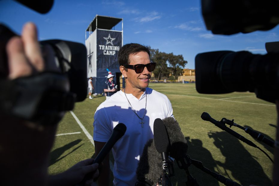 Actor Mark Wahlberg announced in early August that he and his brothers would open a Wahlburgers in Frisco. He spoke to reporters during a Dallas Cowboys practice at training camp in Oxnard, California.