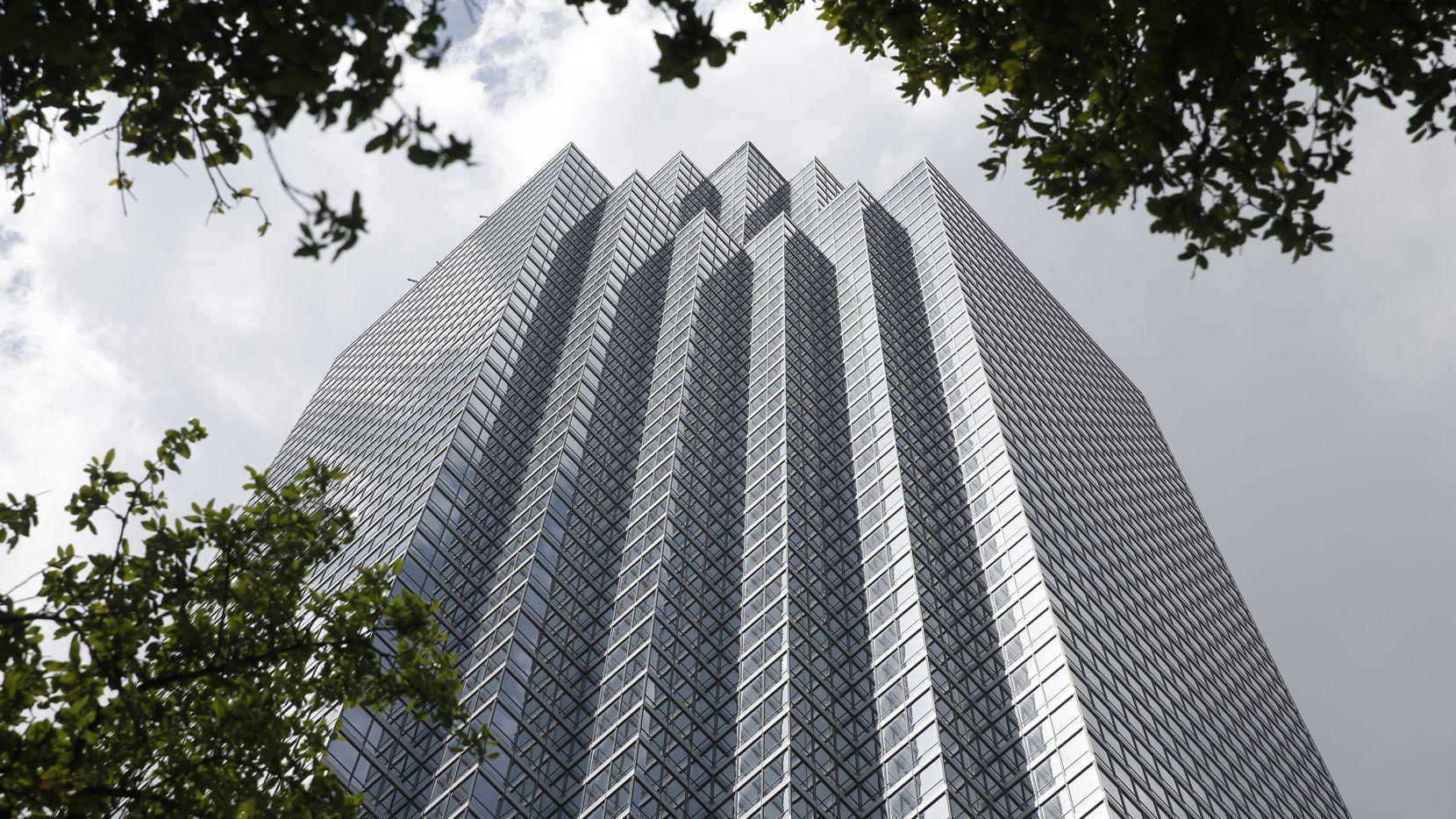 The Bank of America Plaza, Dallas' landmark 72-story skyscraper, is for sale.