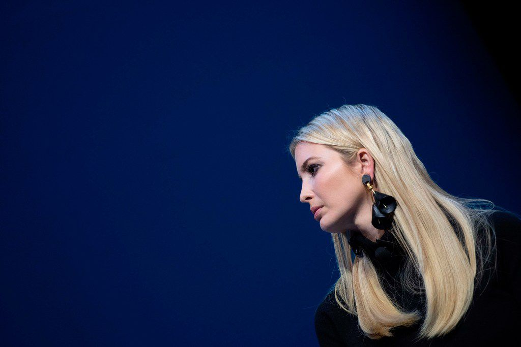 Ivanka Trump speaks during the Business Roundtable CEO Innovation Summit in Washington, DC on December 6, 2018.
