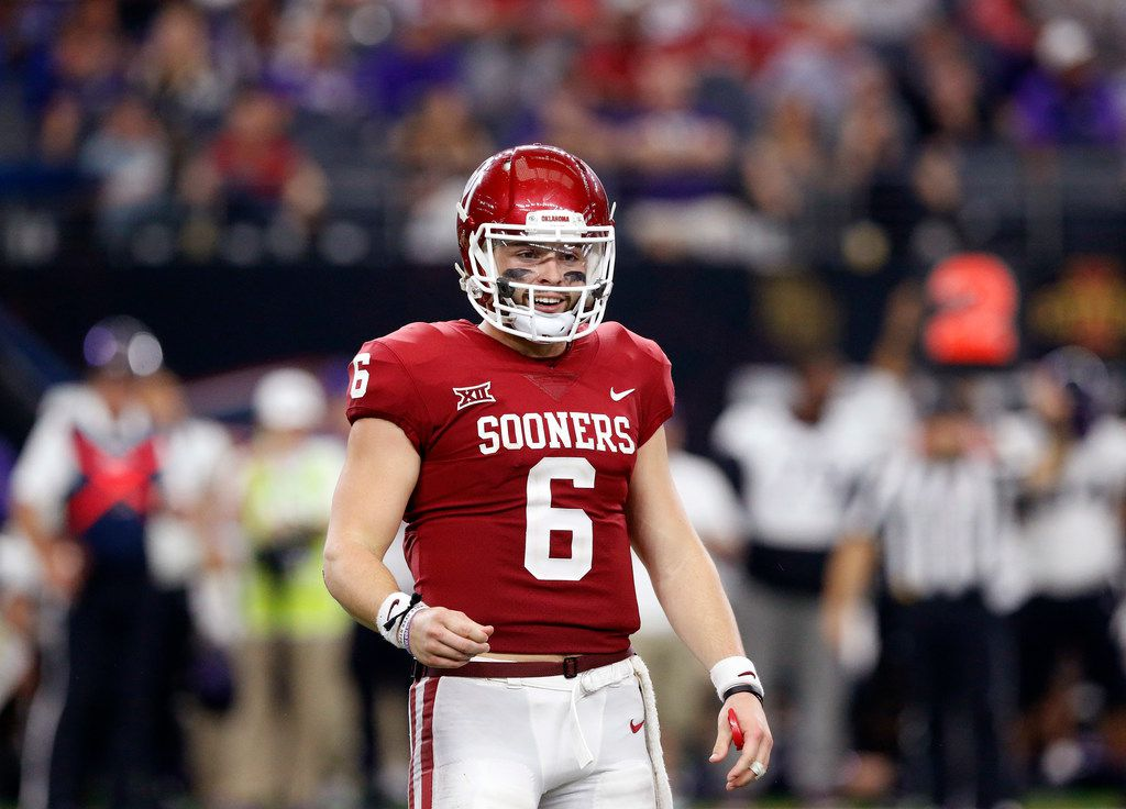 Baker Mayfield named Heisman Trophy finalist and remains