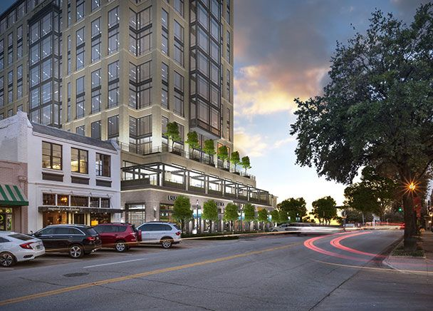 Kirkland & Ellis and WeWork have leased offices in the new tower.