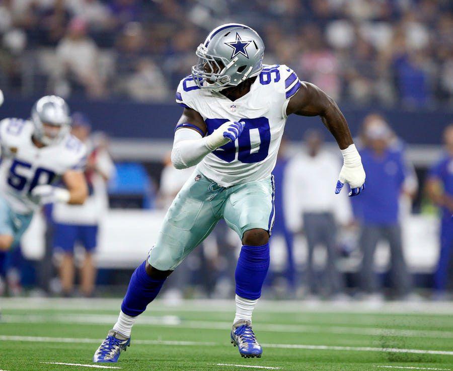 DeMarcus Lawrence negocia un acuerdo a largo plazo con los Dallas Cowboys. Foto DMN