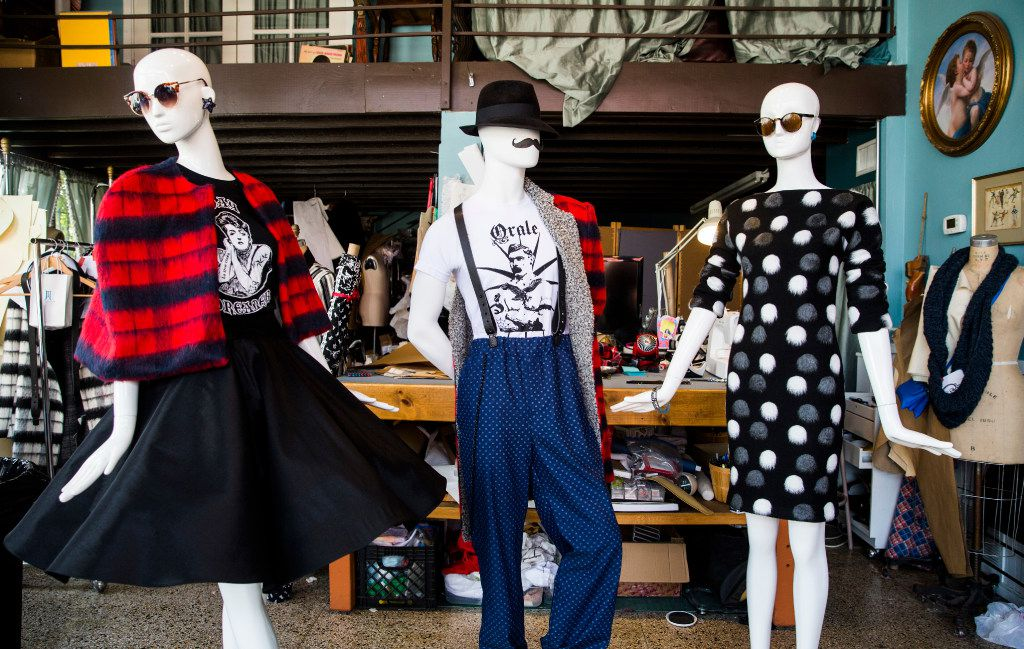 Dallas native Mario Alberto Gallegos wants to celebrate a new wave of style and bring back the well-dressed men and women of the 1940s and 1950s.