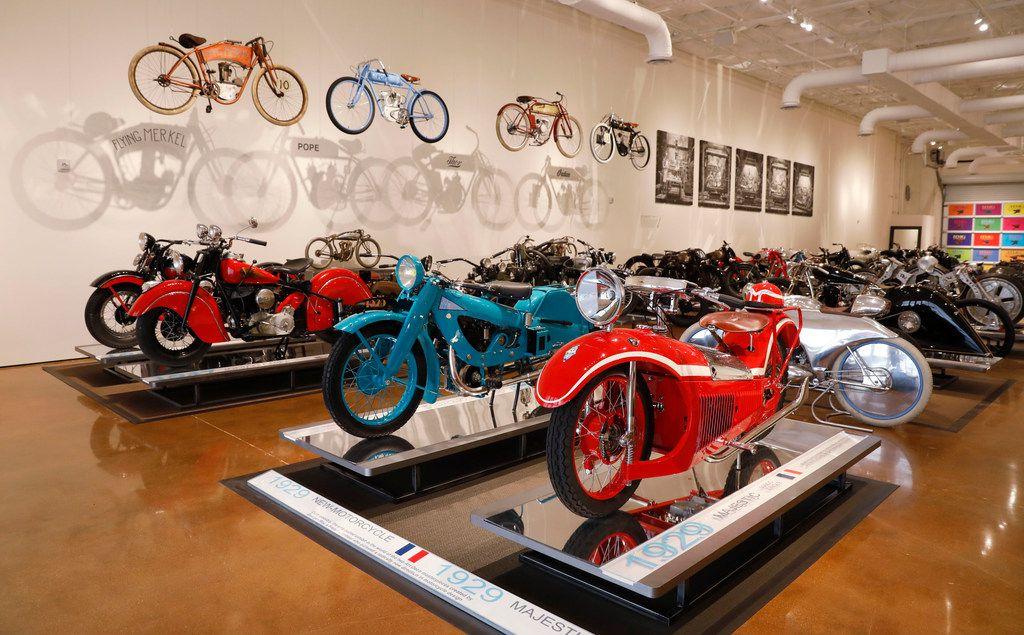 The Haas Moto Museum & Sculpture Gallery in Dallas.