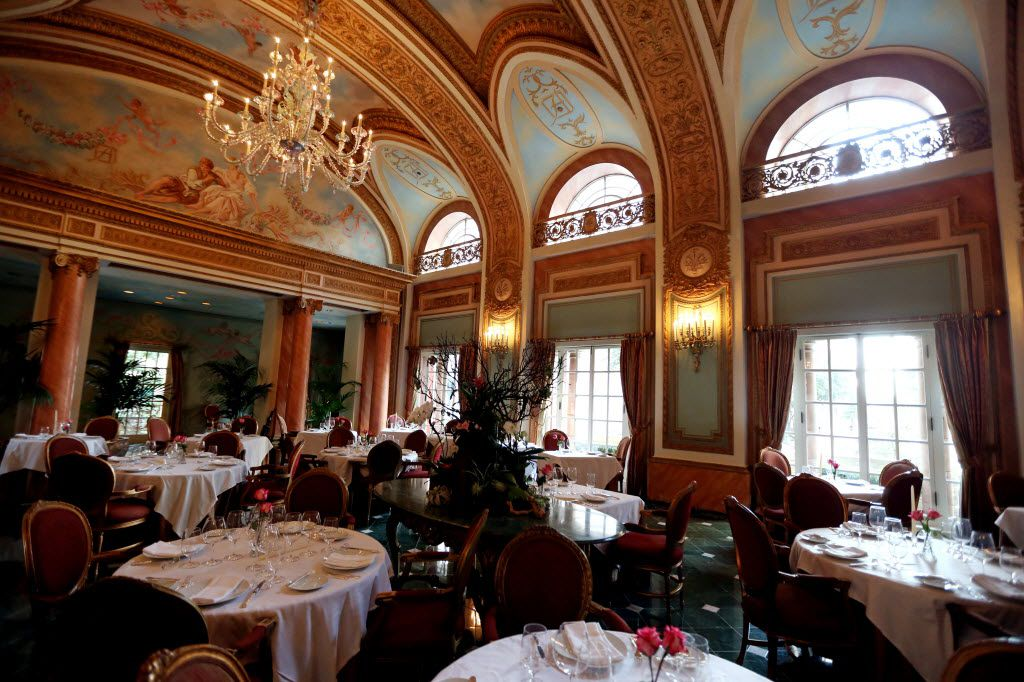 Inside the French Room at the Adolphus Hotel in downtown Dallas on Friday, September 21, 2012.