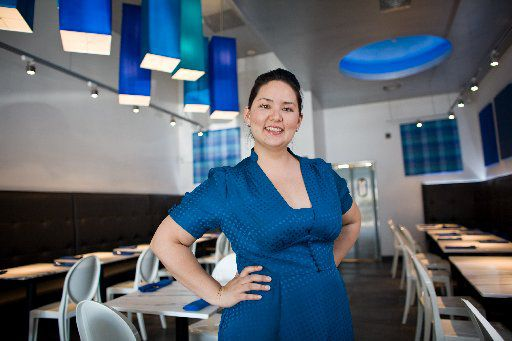 Nikky Phinyawatana is owner of the Asian Mint restaurants. (Carter Rose)