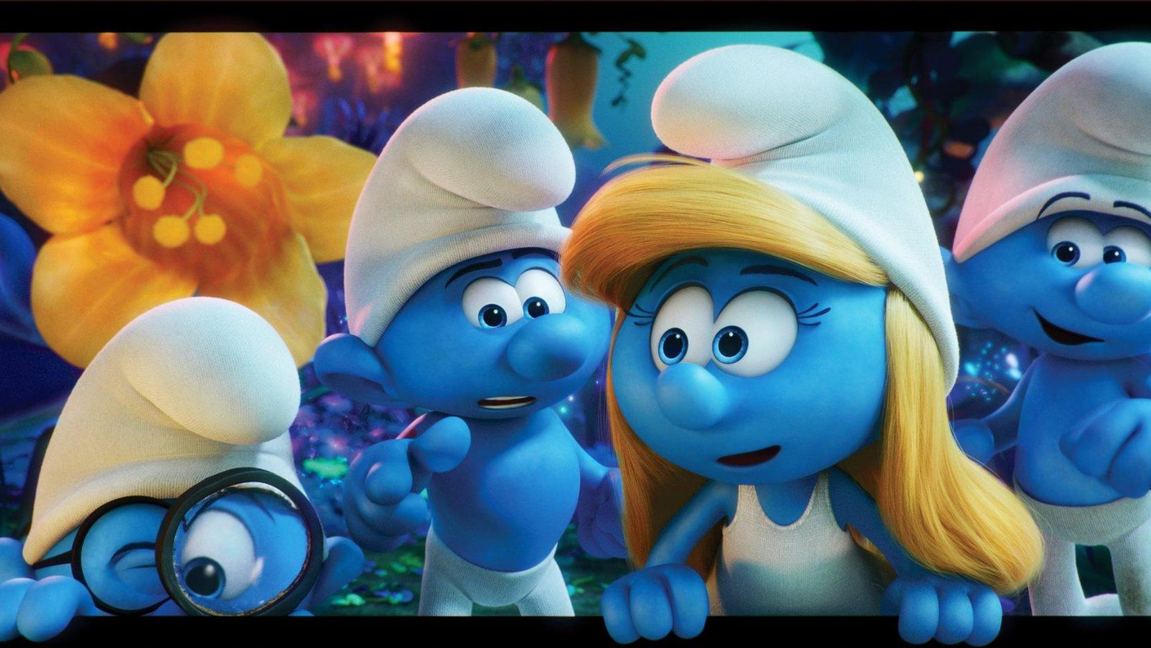 """Smurfs: The Lost Village"", una de las películas que se exhiben en el Summer Movie Clubhouse(CORTESIA)"