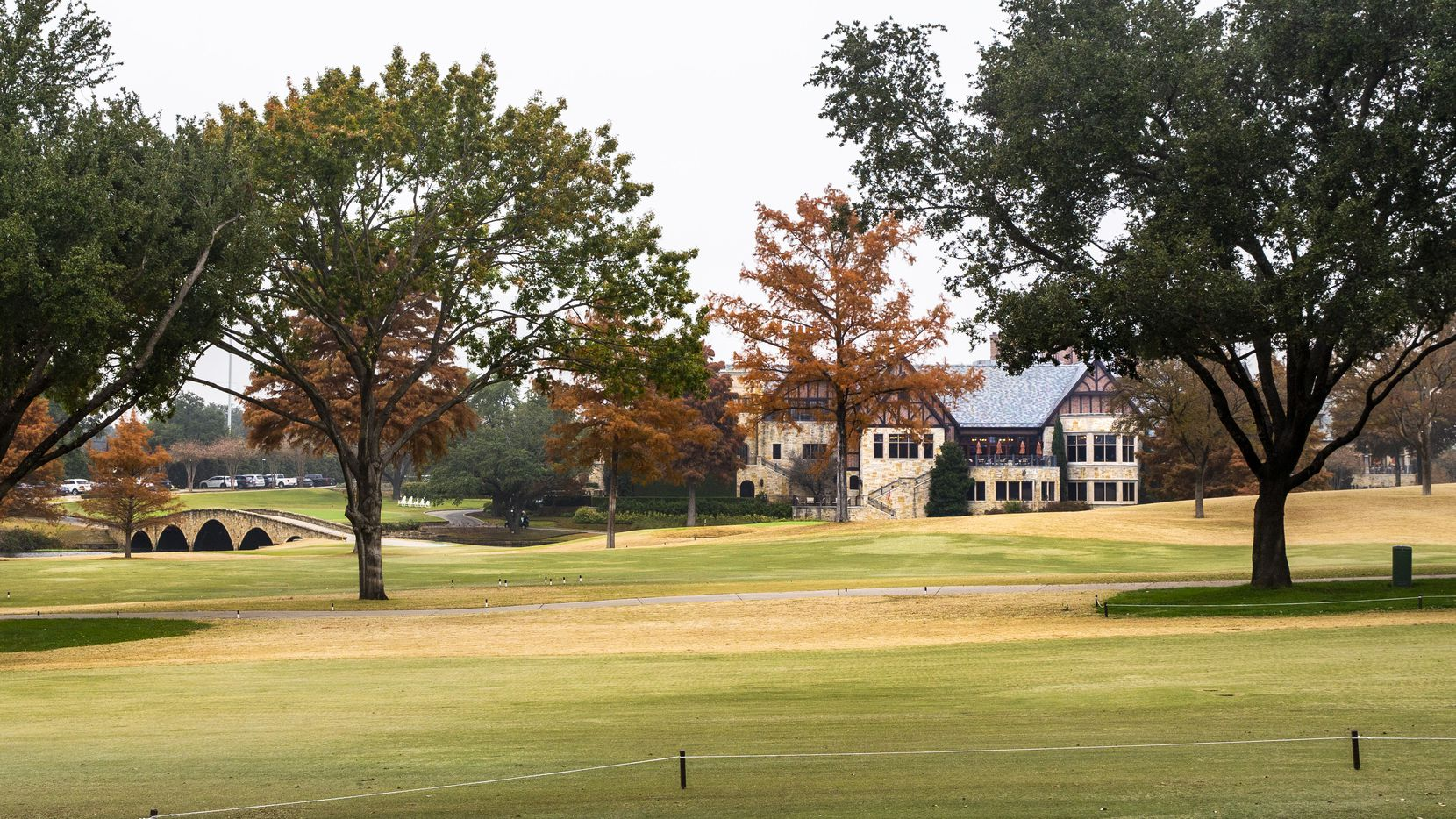 The Dallas Country Club during an overcast morning in Dallas on Wednesday, November 20, 2019. (Lynda M. Gonzalez/The Dallas Morning News)