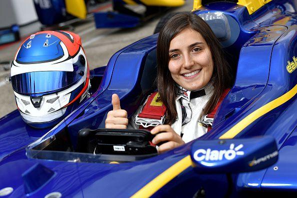 Tatiana Calderón será piloto de pruebas de la Fórmula Uno de la escudería Sauber. Foto Getty Images
