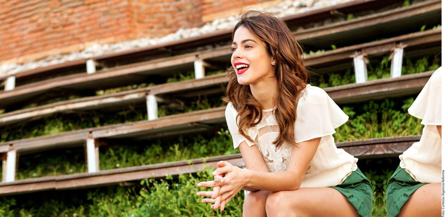 """Martina Stoessel, de 19 años, famosa por la serie de Disney """"Violetta"""", confiesa que disfruta el momento y vive sin ningún tipo de presión ni expectativas./AGENCIA REFORMA"""