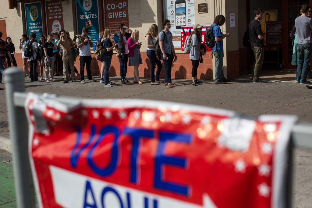 Election Day is Nov. 8; early voting begins Oct. 24.