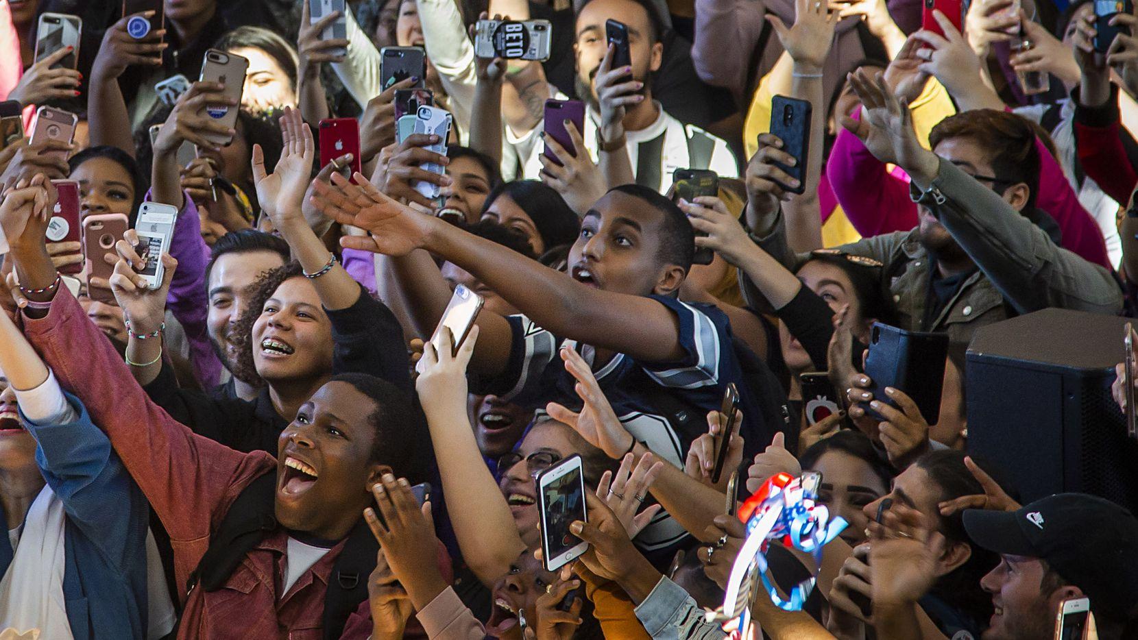 Grupo de jóvenes en el Richland College, en Dallas. DMN
