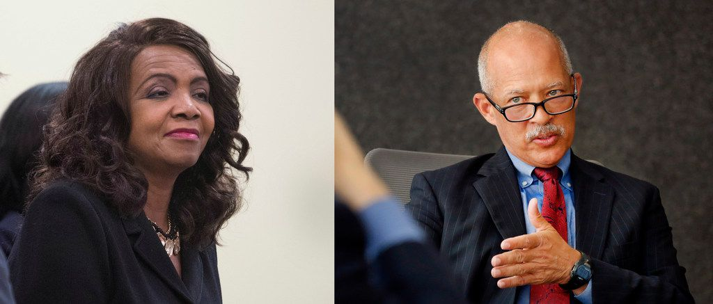 Dallas County District Attorney Faith Johnson and her Democratic opponent, John Creuzot, have been neck-and-neck in fundraising as they near the finish line of the county's highest-profile November race.