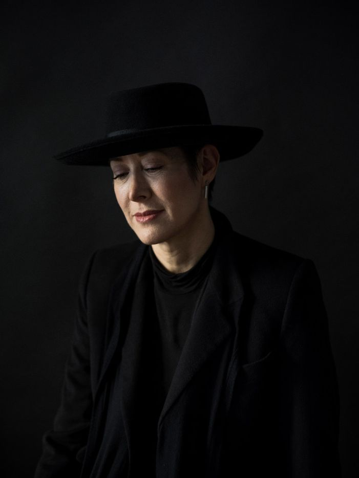Michelle Shocked. Photographed at her home in New York.