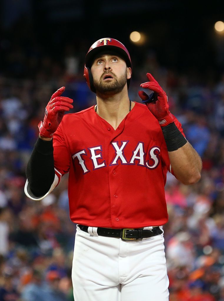 Joey Gallo. (Photo by Richard Rodriguez/Getty Images)