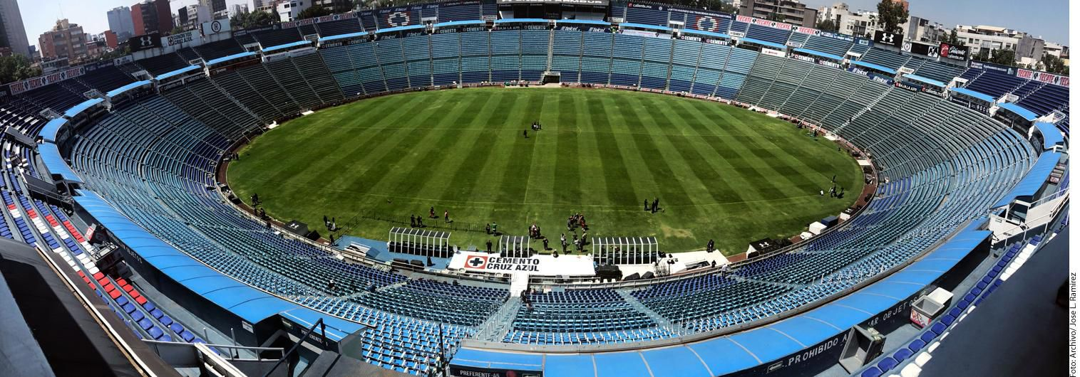 Estadio Azul de la Ciudad de México. AGENCIA REFORMA