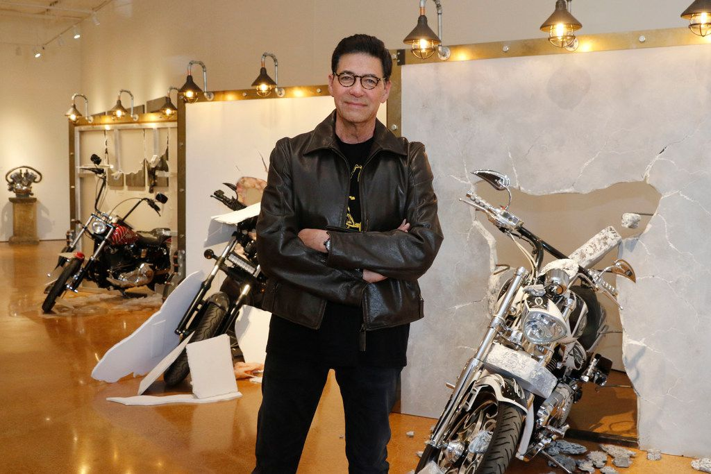 """Bobby Haas' Moto Museum & Sculpture Gallery, set to open April 11 in Dallas' Design District, is part motorcycle display and part art, including an extraordinary series with bad-boy bikes blowing through concrete, wallboard and glass walls. """"We want to be the Tiffany of moto museums,"""" he says. """"It's not about quantity. It's about quality."""""""