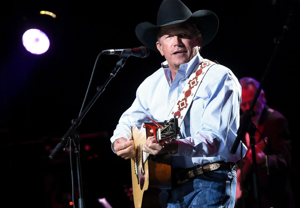 SAN ANTONIO, TX - SEPTEMBER 12:  In this handout photo provided by Hand in Hand, George Strait performs onstage during George Strait's Hand in Hand Texas benefit concert; Strait and special guests Miranda Lambert, Chris Stapleton, Lyle Lovett and Robert Early Keen perform in concert at the Majestic Theatre on September 12, 2017 in San Antonio, Texas.  (Photo by Rick Diamond/Hand in Hand/Getty Images)  TERMS OF USE:  ¥ÊPRINT & ONLINE USE:  The photographer and Getty Images must be credited. ¥ÊSOCIAL MEDIA USE: When posting any Getty imagery you must credit the photographer name /@gettyentertainment in your caption information. ORG XMIT: 775042785