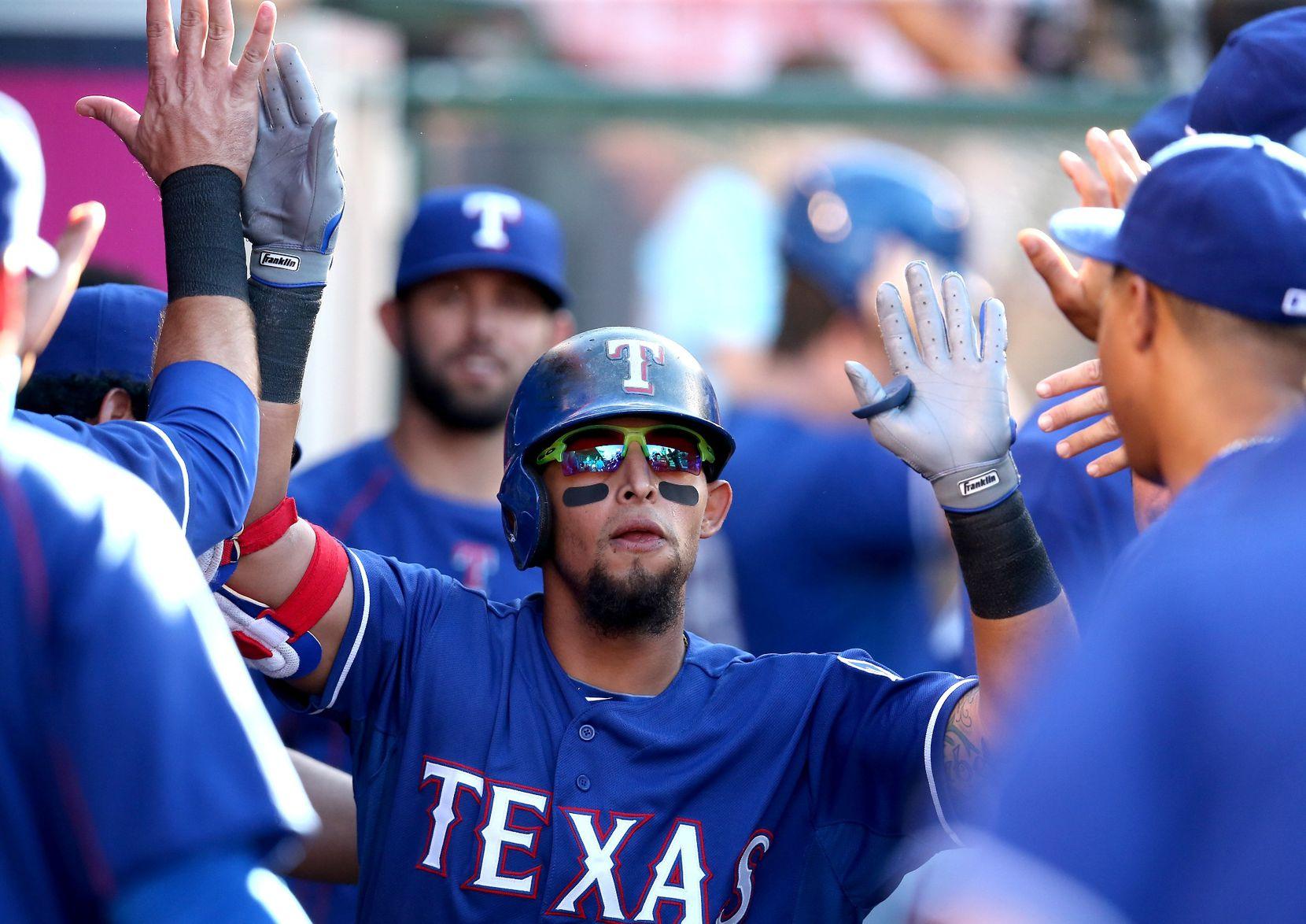Rougned Odor es el segunda base de los Rangers. Foto GETTY IMAGES.