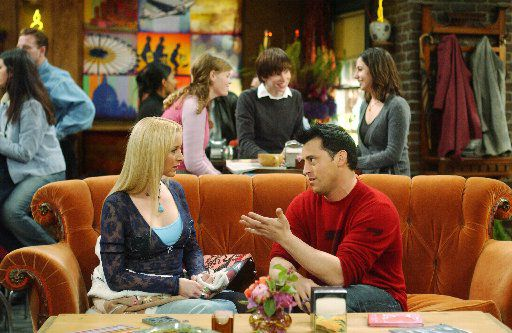 If you know the TV show 'Friends,' you know that famous orange couch inside Central Perk. Two of them are coming to Dallas.