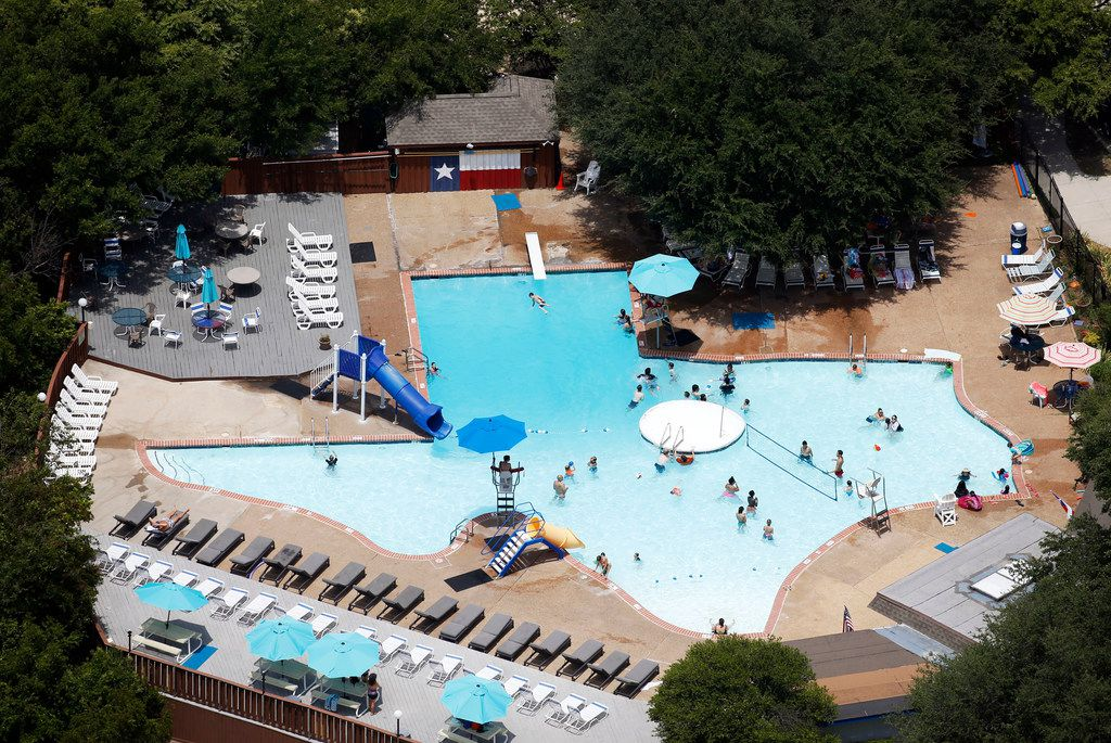 The Texas Pool first opened in 1961 in Plano and has been a community hub ever since.
