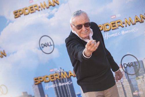 Stan Lee, durante el estreno de una de las cintas de Spider-Man, uno de sus personajes icónicos. GETTY IMAGES