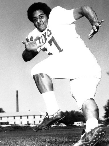 Julius Whittier was recruited by the University of Texas despite his relatively small size and would  eventually be inducted into the Longhorn Hall of Honor.