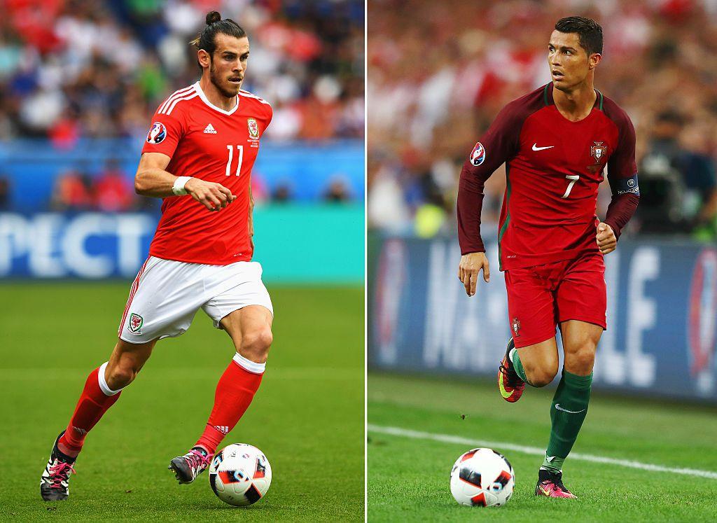 Gareth Bale. Cristiano Ronaldo. Fotos GETTY IMAGES