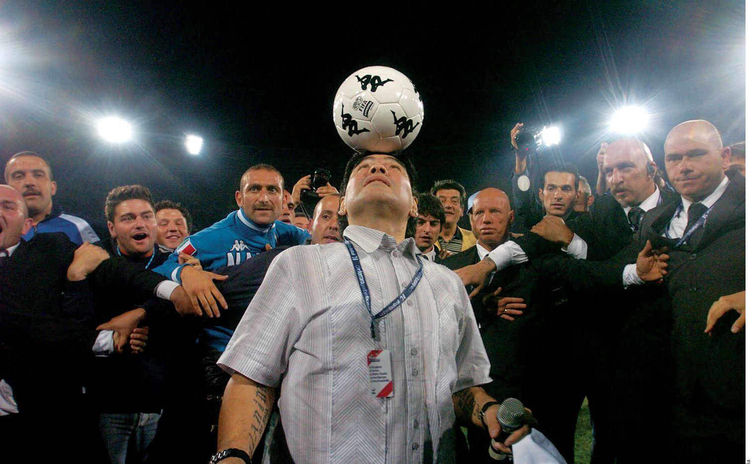 La vida de Diego Armando Maradona ya fue llevada al cine por Emir Kusturika./ AGENCIA REFORMA