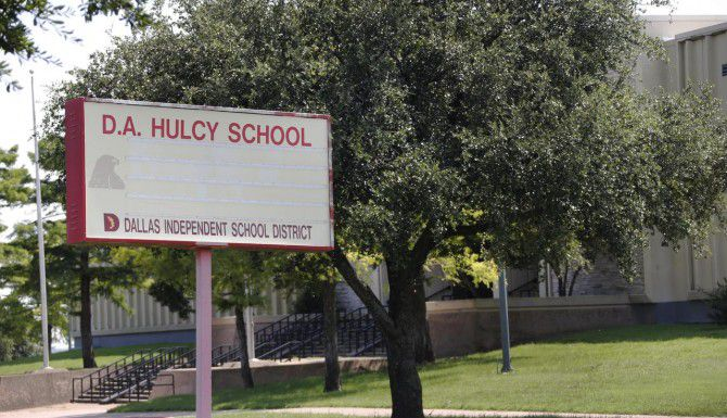 La escuela D.A. Hulcy reabrirá como una escuela de elección. La demanda por cupos superó las expectativas del DISD. (DMN/LOUIS DeLUCA)